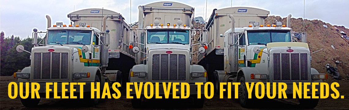 Our fleet has evolved to fit your needs